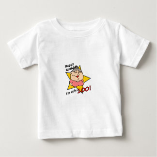 ¡Feliz cumpleaños - soy solamente 100! Tshirts