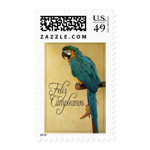 Feliz Cumpleanos Stamp