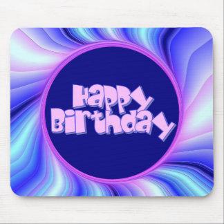 Feliz cumpleaños tapetes de ratón