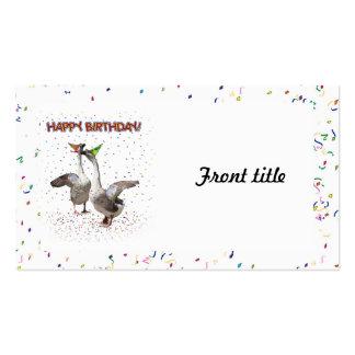 ¡Feliz cumpleaños! Tarjetas De Visita