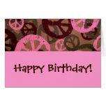 ¡Feliz cumpleaños! - Tarjeta de cumpleaños de los