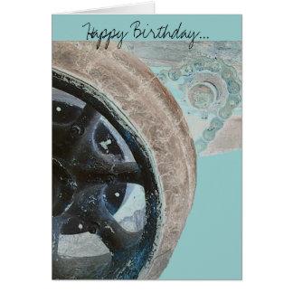 Feliz cumpleaños… tarjeta de felicitación
