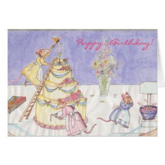¡Feliz cumpleaños! Tarjeta De Felicitación