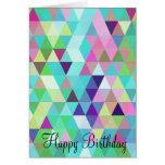 Feliz cumpleaños - tarjeta de felicitación de los