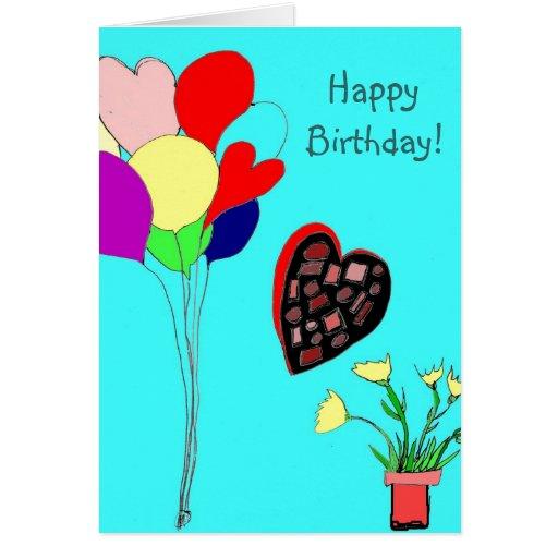 ¡Feliz cumpleaños! Tarjeta Pequeña
