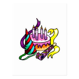 Feliz cumpleaños tarjetas postales