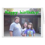 ¡Feliz cumpleaños! Tarjetas