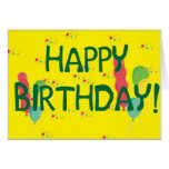 ¡Feliz cumpleaños! Tarjetón