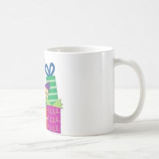 Feliz cumpleaños taza de café