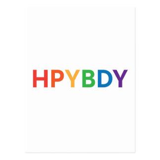 Feliz cumpleaños Texting Postal