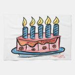 Feliz cumpleaños toalla