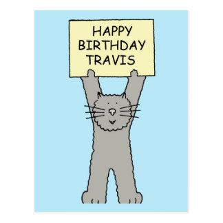 Feliz cumpleaños Travis Postal
