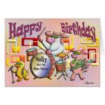 ¡Feliz cumpleaños!  ¡Usted oscila! Felicitación