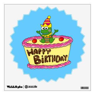 Feliz cumpleaños vinilo decorativo