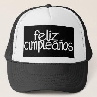 Feliz Cumpleaños white Hat