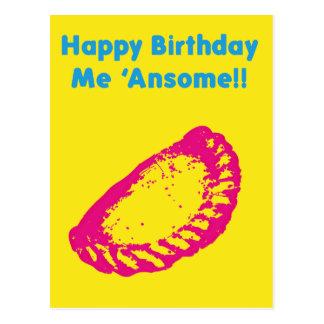 Feliz cumpleaños yo Ansome Tarjeta Postal