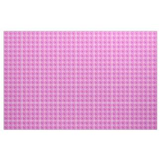 """""""Feliz de dibujar"""" (diseño floral rosado) Telas"""