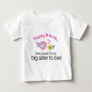Feliz de ser yo camiseta banal de la hermana