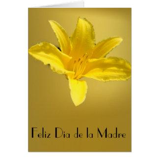 Feliz Dia de la Madre 3 Card