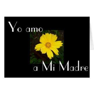 Feliz Dia de la Madre 8 Greeting Card