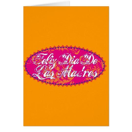 Feliz Dia De Las Madre Card