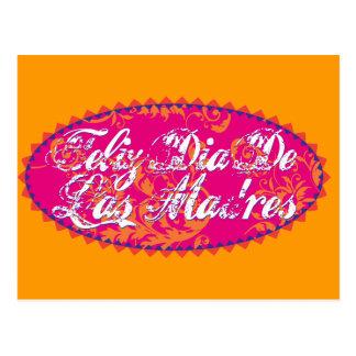 Feliz Dia De Las Madre Postcard