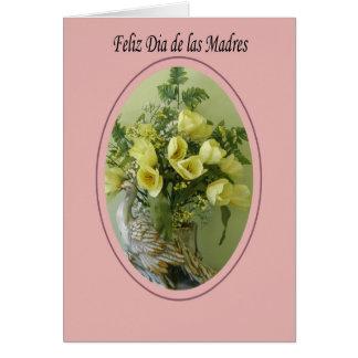 feliz dia de las madres 2 tarjeta de felicitación