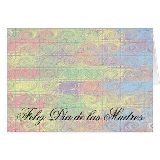 Feliz Dia de las Madres Card