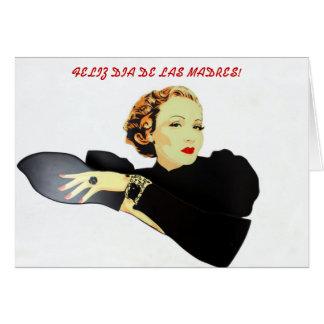 feliz dia de las madres Carta Card