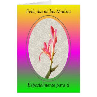 Feliz dia de las Madres, Especialmente... Card