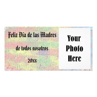Feliz Dia de las Madres foto de la tarjeta Card