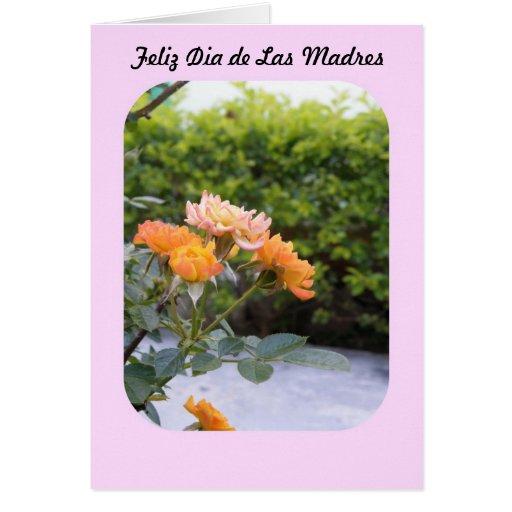 Feliz Dia de las Madres Greeting Card | Zazzle