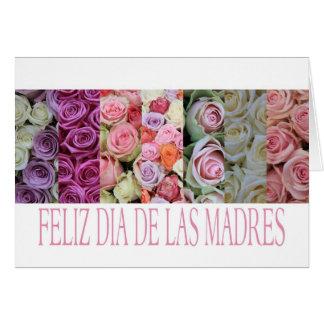 feliz dia de las madres mother's day card