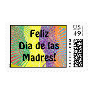 Feliz Dia de las Madres! Postage Stamp