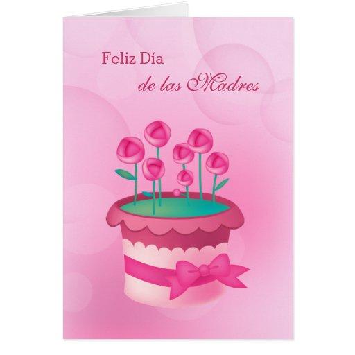 Feliz Día de las Madres. Spanish Greeting Cards | Zazzle