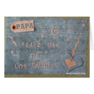 Feliz Dia de Los Padres - Papa (Personalize) Greeting Cards