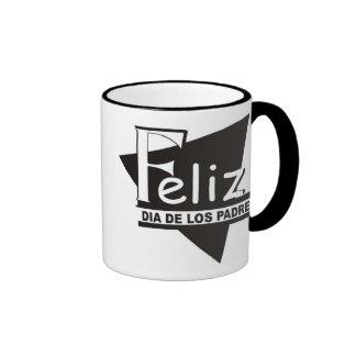 Feliz Dia de los Padres© Taza Coffee Mug