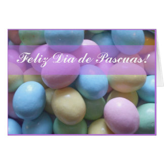 Feliz Dia de Pascuas Greeting card