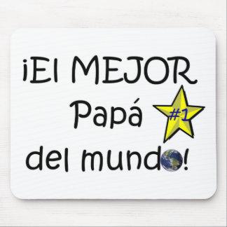 ¡Feliz día del padre - eres el mejor! Mouse Pad