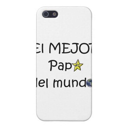 ¡¡Feliz día del padre - mejor del EL de los eres! iPhone 5 Funda