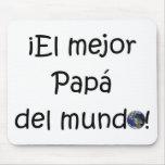 ¡¡Feliz día del padre - mejor del EL de los eres! Tapete De Ratones