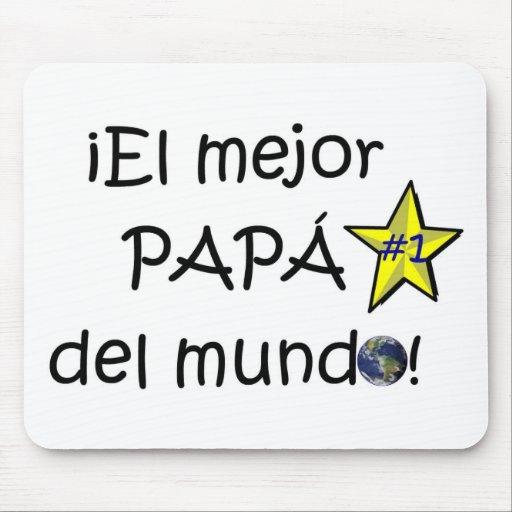 ¡¡Feliz día del padre - mejor del EL de para! Alfombrillas De Ratón