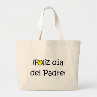 ¡¡Feliz día del padre - mejor del EL de para! Bolsas De Mano