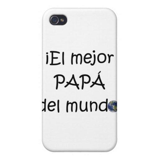 ¡¡Feliz día del padre - mejor del EL de para! iPhone 4/4S Funda