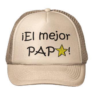 ¡¡Feliz día del padre - mejor del EL de para! Gorras