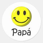 ¡¡Feliz día del padre - mejor del EL de para! Etiqueta