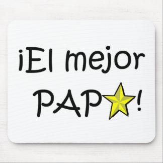 ¡¡Feliz día del padre - mejor del EL de para! Tapetes De Ratón