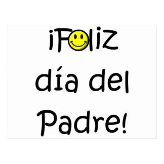 ¡¡Feliz día del padre - mejor del EL de para! Tarjeta Postal