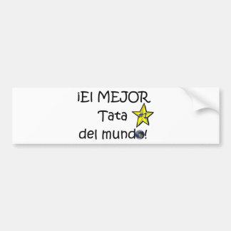 ¡Feliz día del padre - para el mejor! Bumper Sticker