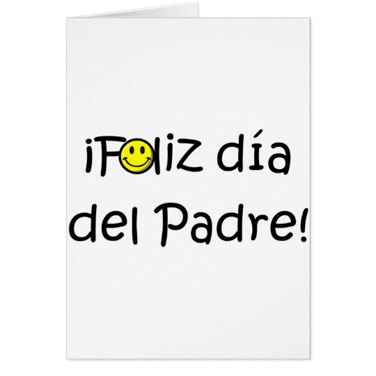 ¡Feliz día del padre - para el mejor! Card